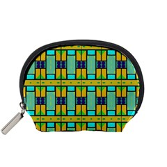 Different shapes pattern Accessory Pouch (Small)