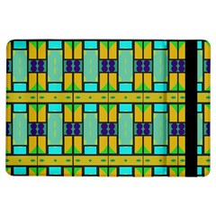 Different shapes pattern Apple iPad Air Flip Case