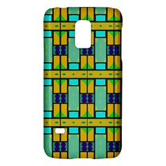 Different shapes pattern Samsung Galaxy S5 Mini Hardshell Case