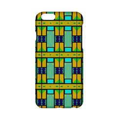 Different shapes pattern Apple iPhone 6 Hardshell Case