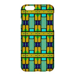 Different shapes pattern Apple iPhone 6 Plus Hardshell Case