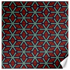 Cubes Pattern Abstract Design Canvas 16  X 16