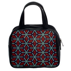 Cubes Pattern Abstract Design Classic Handbag (two Sides)