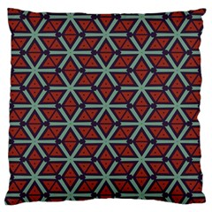 Cubes Pattern Abstract Design Large Cushion Case (two Sides)