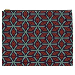 Cubes Pattern Abstract Design Cosmetic Bag (xxxl)
