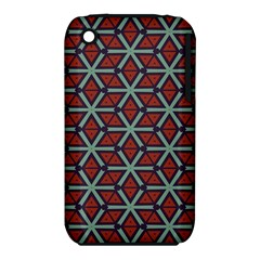 Cubes pattern abstract design Apple iPhone 3G/3GS Hardshell Case (PC+Silicone)