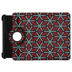 Cubes Pattern Abstract Design Kindle Fire Hd Flip 360 Case