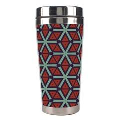 Cubes pattern abstract design Stainless Steel Travel Tumbler
