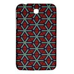 Cubes Pattern Abstract Design Samsung Galaxy Tab 3 (7 ) P3200 Hardshell Case
