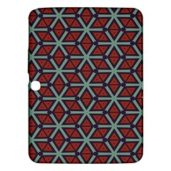 Cubes Pattern Abstract Design Samsung Galaxy Tab 3 (10 1 ) P5200 Hardshell Case