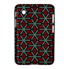 Cubes pattern abstract design Samsung Galaxy Tab 2 (7 ) P3100 Hardshell Case