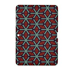 Cubes Pattern Abstract Design Samsung Galaxy Tab 2 (10 1 ) P5100 Hardshell Case