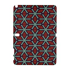 Cubes pattern abstract design Samsung Galaxy Note 10.1 (P600) Hardshell Case