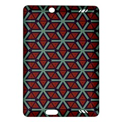 Cubes Pattern Abstract Design Kindle Fire Hd (2013) Hardshell Case