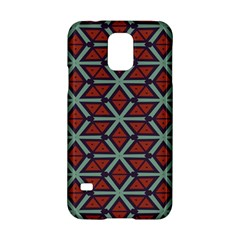 Cubes pattern abstract design Samsung Galaxy S5 Hardshell Case