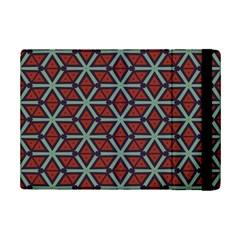 Cubes pattern abstract design Apple iPad Mini 2 Flip Case