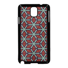 Cubes Pattern Abstract Design Samsung Galaxy Note 3 Neo Hardshell Case (black)