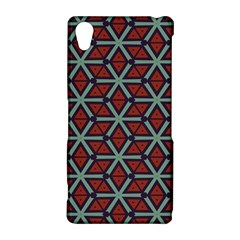 Cubes pattern abstract design Sony Xperia Z2 Hardshell Case