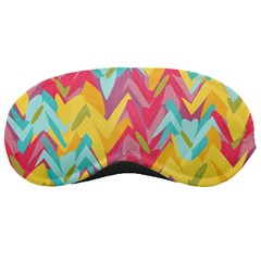 Paint strokes abstract design Sleeping Mask