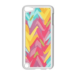 Paint Strokes Abstract Design Apple Ipod Touch 5 Case (white)