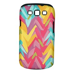 Paint strokes abstract design Samsung Galaxy S III Classic Hardshell Case (PC+Silicone)