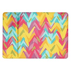 Paint Strokes Abstract Design Samsung Galaxy Tab 10 1  P7500 Flip Case