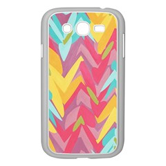 Paint Strokes Abstract Design Samsung Galaxy Grand Duos I9082 Case (white)