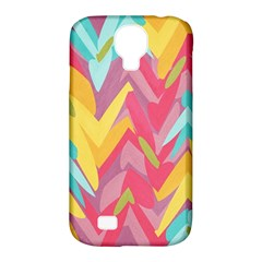 Paint Strokes Abstract Design Samsung Galaxy S4 Classic Hardshell Case (pc+silicone)