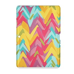 Paint strokes abstract design Samsung Galaxy Tab 2 (10.1 ) P5100 Hardshell Case