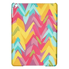 Paint strokes abstract design Apple iPad Air Hardshell Case