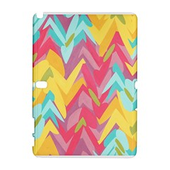 Paint Strokes Abstract Design Samsung Galaxy Note 10 1 (p600) Hardshell Case