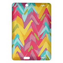 Paint strokes abstract design Kindle Fire HD (2013) Hardshell Case