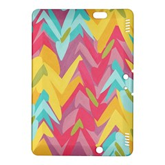 Paint strokes abstract design Kindle Fire HDX 8.9  Hardshell Case