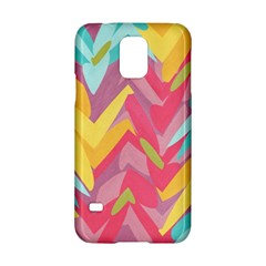 Paint strokes abstract design Samsung Galaxy S5 Hardshell Case