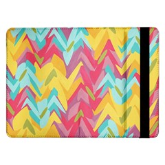 Paint strokes abstract design Samsung Galaxy Tab Pro 12.2  Flip Case