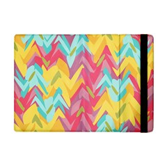 Paint strokes abstract design Apple iPad Mini 2 Flip Case