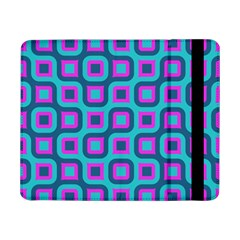 Blue purple squares pattern Samsung Galaxy Tab Pro 8.4  Flip Case