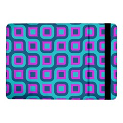 Blue purple squares pattern Samsung Galaxy Tab Pro 10.1  Flip Case
