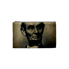 Vintage Civil War Era Lincoln Cosmetic Bag (small)