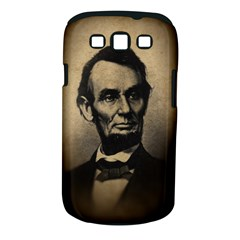 Vintage Civil War Era Lincoln Samsung Galaxy S Iii Classic Hardshell Case (pc+silicone)