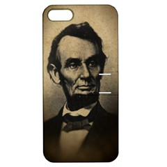 Vintage Civil War Era Lincoln Apple Iphone 5 Hardshell Case With Stand