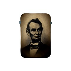 Vintage Civil War Era Lincoln Apple Ipad Mini Protective Sleeve