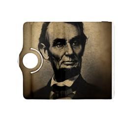 Vintage Civil War Era Lincoln Kindle Fire HDX 8.9  Flip 360 Case
