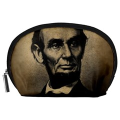 Vintage Civil War Era Lincoln Accessory Pouch (Large)