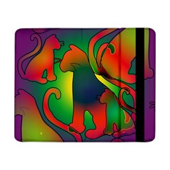 Rainbow Purple Cats Samsung Galaxy Tab Pro 8.4  Flip Case