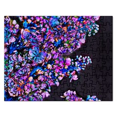 Abstract Lilacs Jigsaw Puzzle (Rectangle)