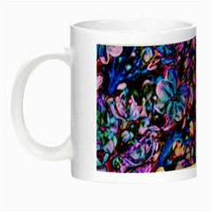 Abstract Lilacs Glow In The Dark Mug