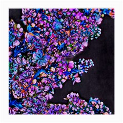 Abstract Lilacs Glasses Cloth (medium)