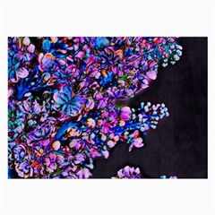 Abstract Lilacs Glasses Cloth (large)