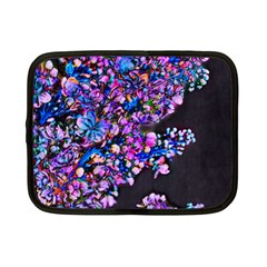 Abstract Lilacs Netbook Sleeve (small)